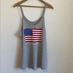United States of America flag tank top ! ❤️